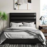 Ripon Channel Tufted Upholstered Standard Bed by Orren Ellis