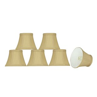 5 Fabric Bell Lamp Shade (Set of 6)