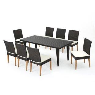 Bealeton 9 Piece Dining Set