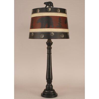 "Rustic Living Round32"" Buffet Lamp Coast Lamp Mfg."