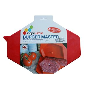 32 Oz. Burger Master Max 4-in-1 Press and Freezer Container