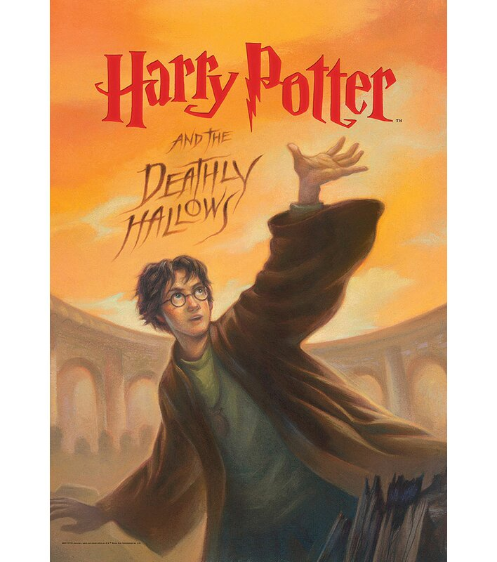 Image result for deathly hallows book cover
