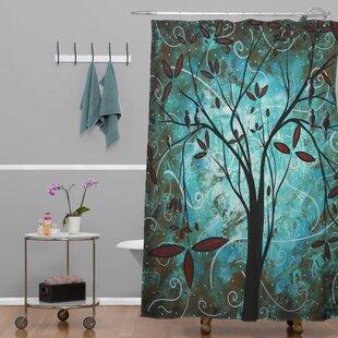 Deny Designs Madart Inc. Romantic Evening Extra Long Shower Curtain
