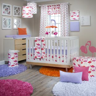 Compare Steel 3 Piece Crib Bedding Set By Harriet Bee