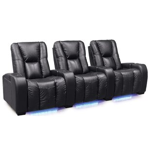 Neville Manual Reclining Home Theater Sofa (Row Of 3) By Palliser Furniture