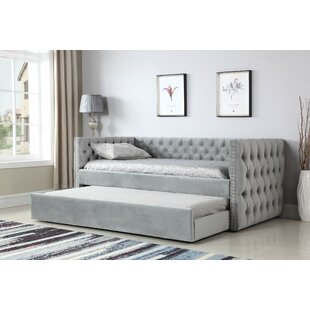 Read Reviews Lansford Daybed with Trundle by House of Hampton Reviews (2019) & Buyer's Guide