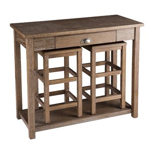 carlin 3piece pub table set