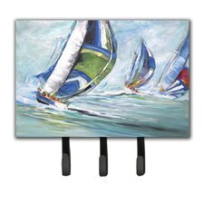 Boat Race Leash Holder and Key Hook by Caroline's Treasures