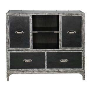 Jacinta Leather Accent Chest by Gracie Oaks