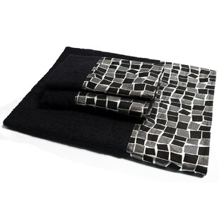 Mosaic Stone 3 Piece Towel Set