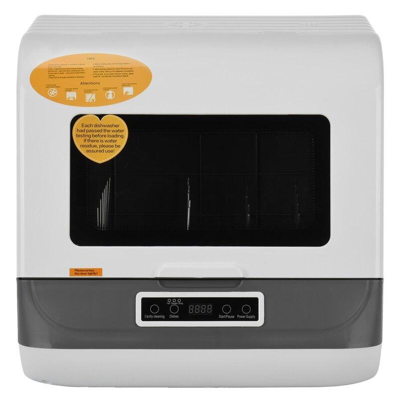"""Flang 17"""" 50 Dba Countertop Dishwasher"""