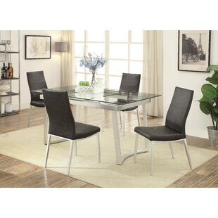 Stone Street 5 Piece Extendable Dining Set by Wrought Studio #2