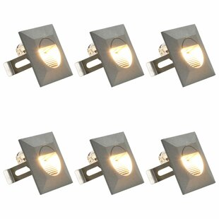 Felten Square LED Outdoor Sconce (Set Of 6) By Sol 72 Outdoor