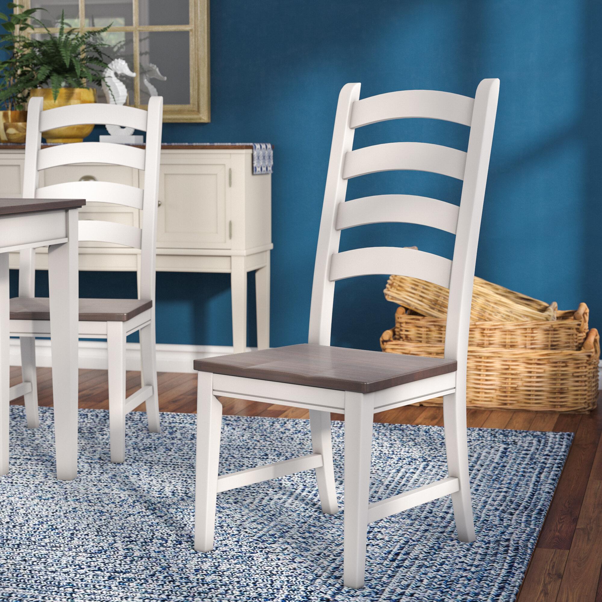 beachcrest home tamiami ladderback side chair reviews wayfair