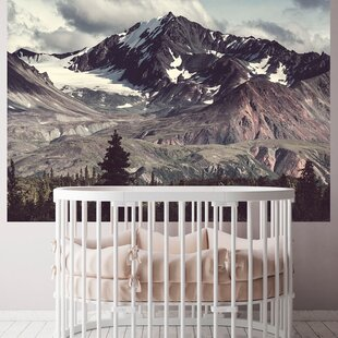 The Majestic Mountains Murals That Stick  Wallpaper
