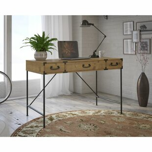 Ironworks 3 Piece Desk Office Suite by Kathy Ireland Office by Bush