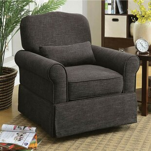 Bernon Transitional Glider Chair with Cushion