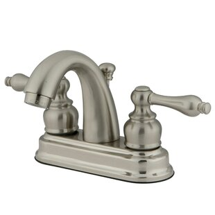 Restoration Centerset Bathroom Faucet with Pop-Up Drain ByKingston Brass