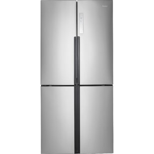 16.4 cu. ft. Counter Depth Side-by-Side Refrigerator by Haier
