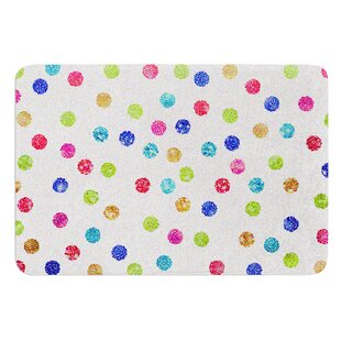Seeing Dots by Beth Engel Bath Mat