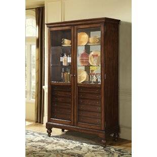 Robillard Lighted China Cabinet by Astoria Grand