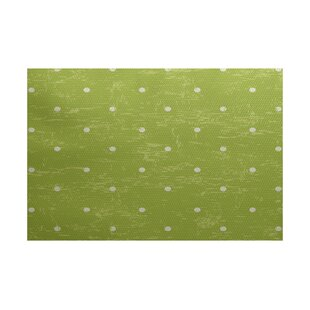 Golden Beach Light Green Indoor/Outdoor Area Rug