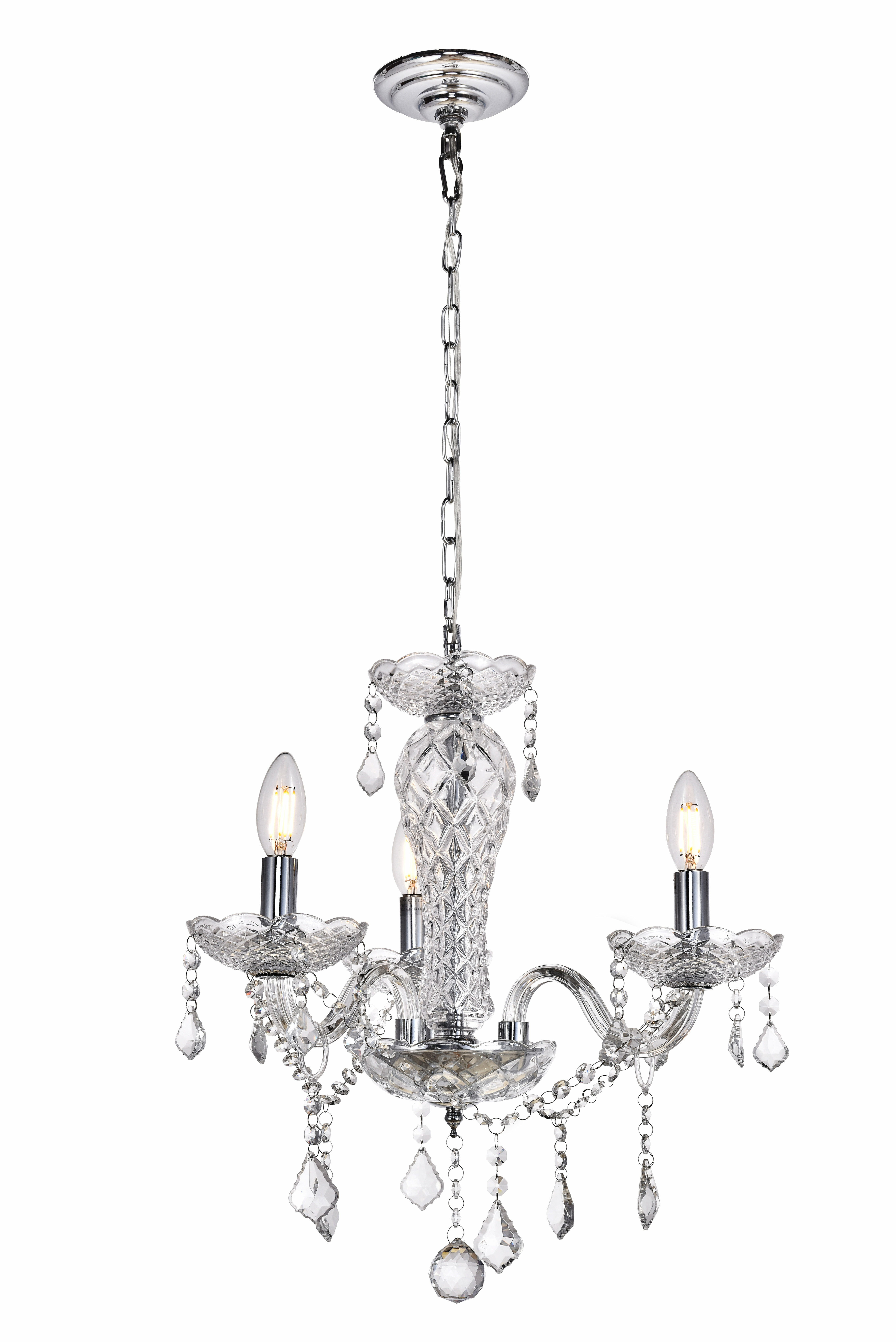 House Of Hampton Colindale 3 Light Candle Style Classic Traditional Chandelier Wayfair