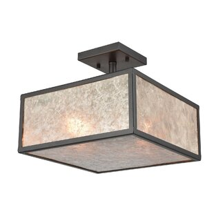 Buhl 3-Light Semi Flush Mount by Williston Forge