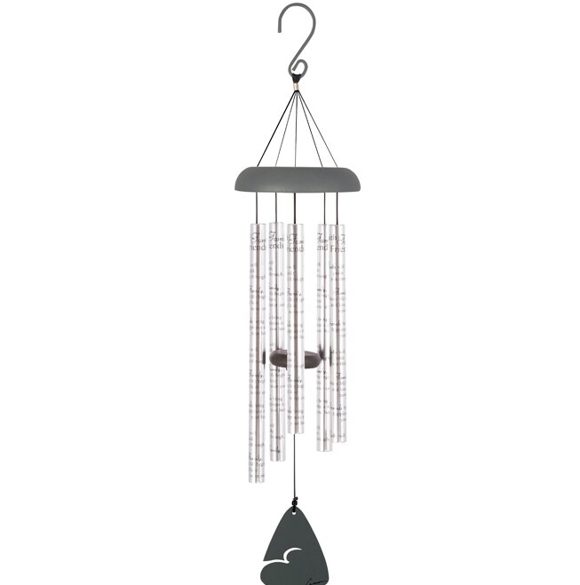 Serenable Antique Metal Bird-Shape Wind Chime for Indoor and Outdoor Decoration Blue Bell