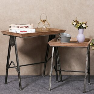 Coupon Sharee 2 Piece TV Tray Table Set By Williston Forge