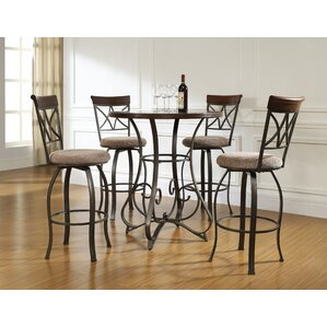 steele 5 piece pub table set