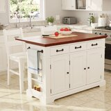 Hewish Kitchen Island Set by August Grove®