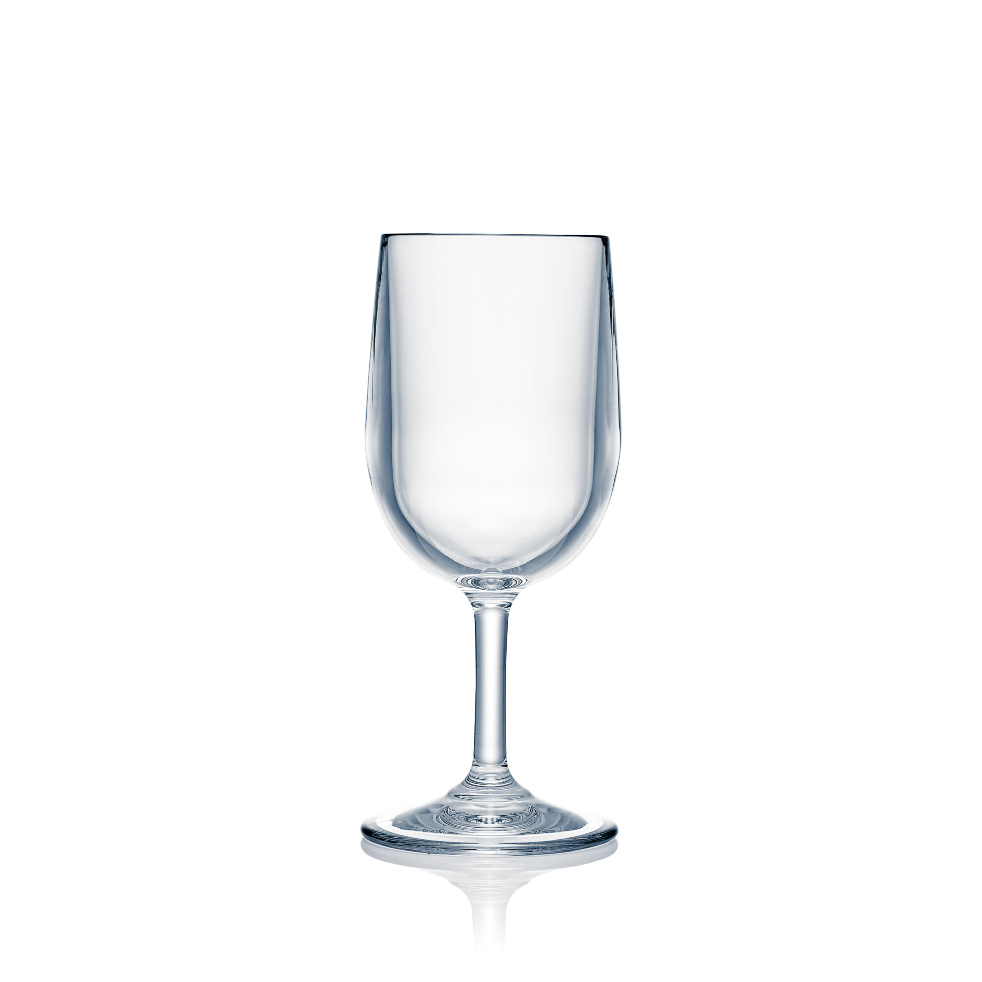 Latitude Run Akita 4 Piece 8 Oz Plastic White Wine Glass Set Wayfair