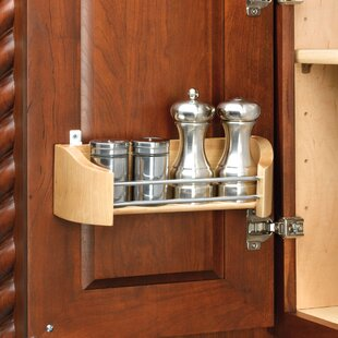 Cabinet Door Mount Storage Tray by Rev-A-Shelf