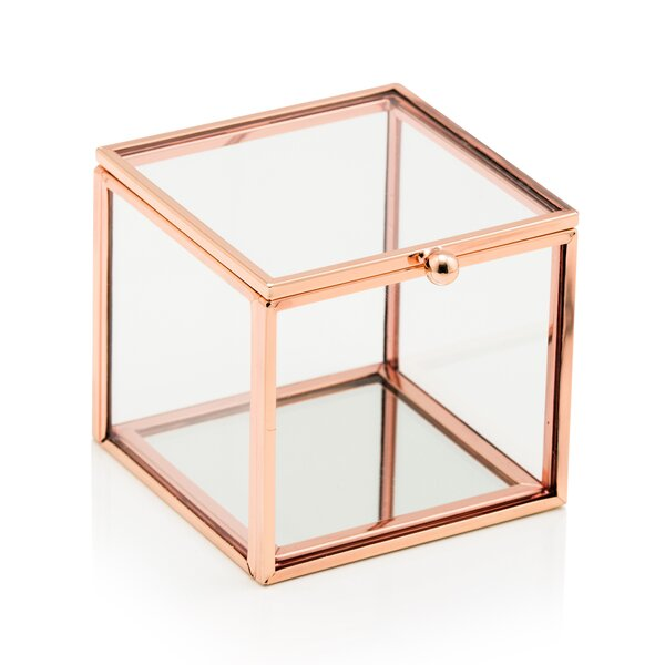 Trule Teen Belcher Small Glass Decorative Box Wayfair Ca