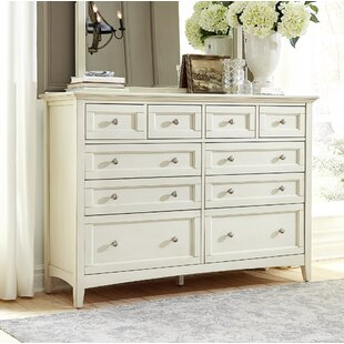 Burris 10 Drawer Dresser by Alcott Hill
