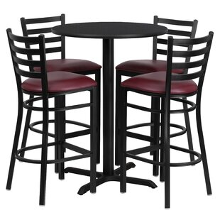 Wen 5 Piece Pub Table Set by R..
