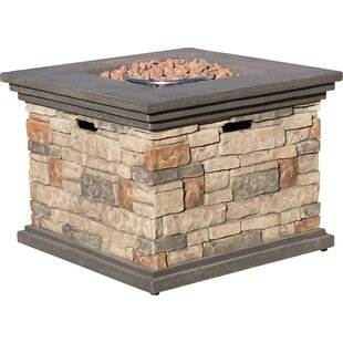Herefordshire Polyresin Propane Fire Pit Table