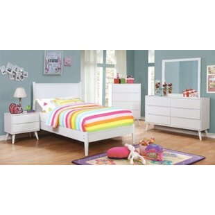 Kelsey Twin Platform 4 Piece Bedroom Set by Isabelle amp Max