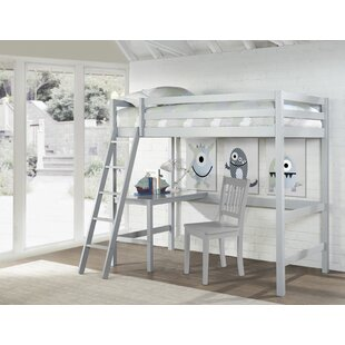 Andreana Twin Loft Bed with Chair