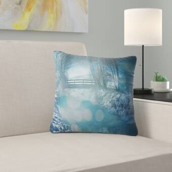 Ebern Designs Bolser Cooper Cotton Throw Pillow Wayfair