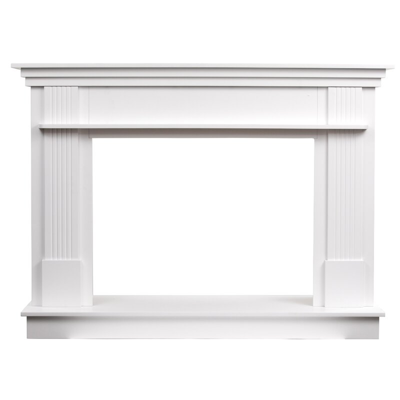 Rosecliff Heights Trinh Freestanding Fireplace Mantel Surround Reviews Wayfair Ca
