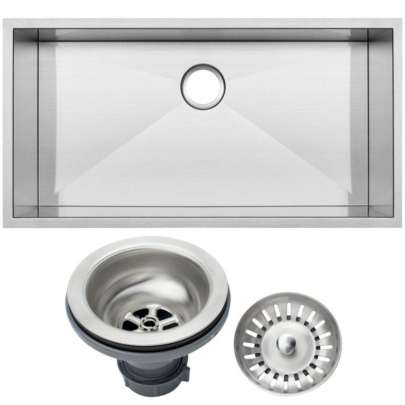 Ticor Sinks Zero Radius 36\