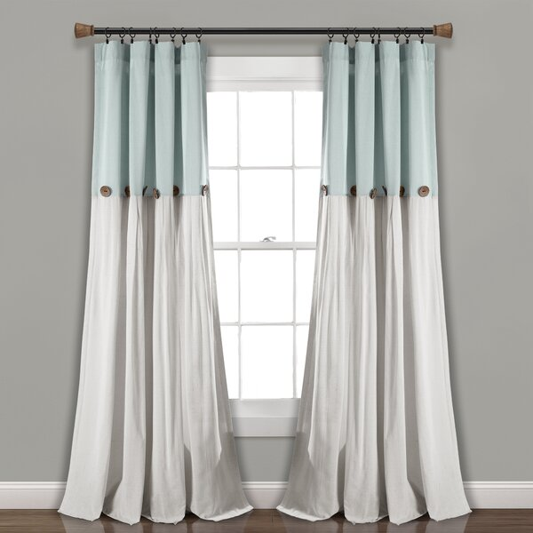 Complete 5 Pc Window in a Bag Floral Sheer Curtain Set Assorted Colors /& Sizes