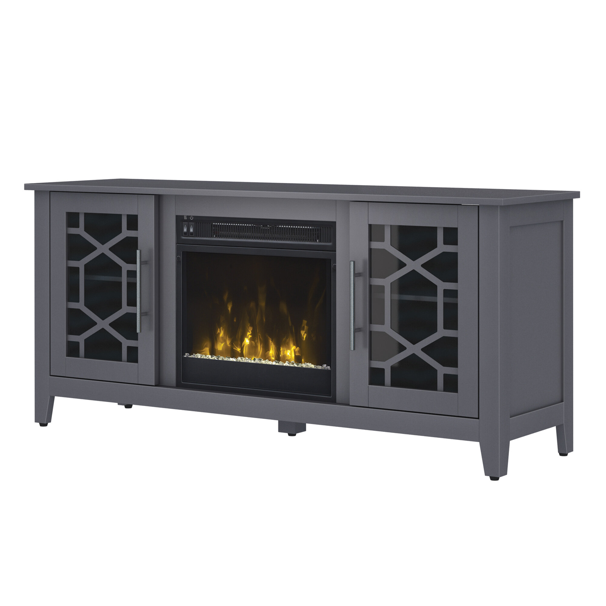 Jennings 54 Tv Stand With Fireplace Reviews Allmodern
