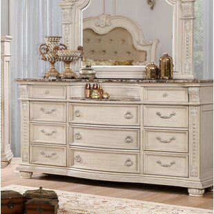 Makaila 11 Drawer Double Dresser