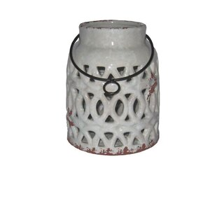 Bungalow Rose Ceramic Lantern