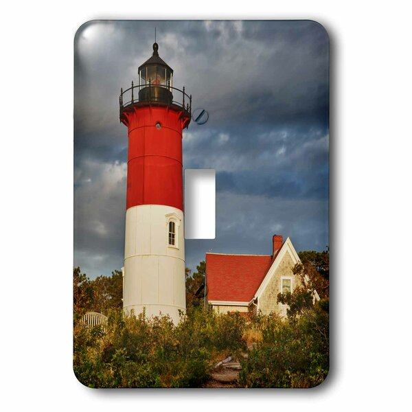 3drose Nauset Light Cape Cod National Seashore Eastham Massachusetts 1 Gang Toggle Light Switch Wall Plate Wayfair