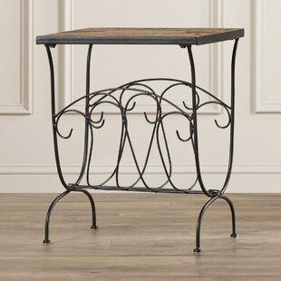 Barker Ridge End Table by Alcott Hill