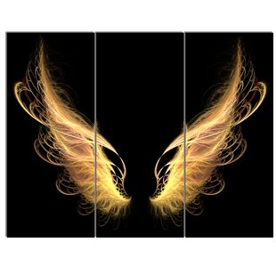 Well known Angel Wings Canvas Artwork | Wayfair OG02
